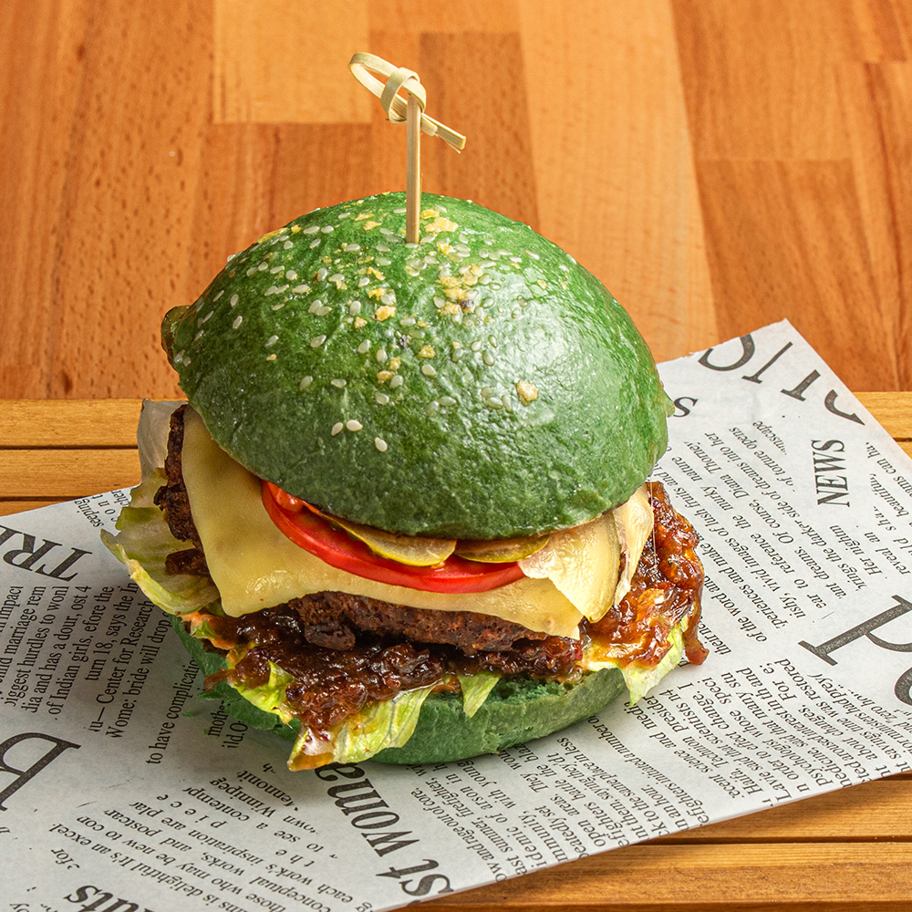The Incredible Hulk Burger