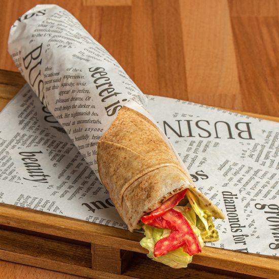 Vegan Falafel Wrap